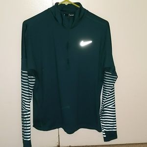 Nike dri-fit pull over workout top.